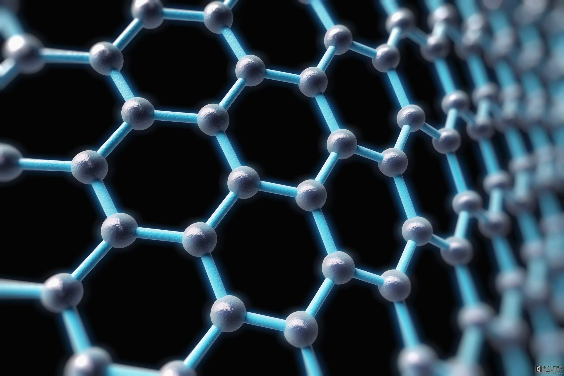 烯结构是平面六边形点阵,可以看作是一层被剥离的石墨分子,每个碳原子